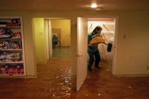 Flooded San Marcos TX
